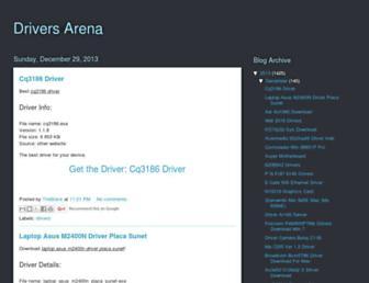 driversarena15.blogspot.com screenshot
