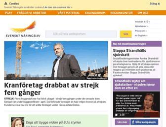 Thumbshot of Svensktnaringsliv.se