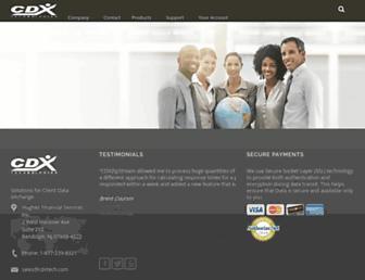 cdxtech.com screenshot