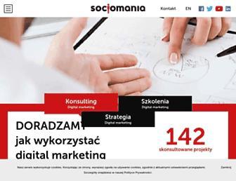 socjomania.pl screenshot