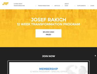 Thumbshot of Josefrakichfitness.com