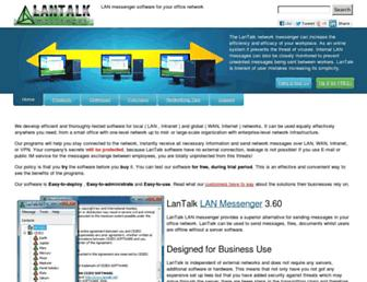 lantalk.net screenshot
