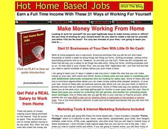 hothomebasedjobs.com screenshot