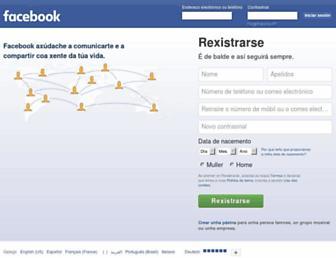gl-es.facebook.com screenshot