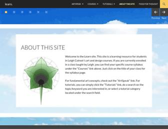 learn.leighcotnoir.com screenshot