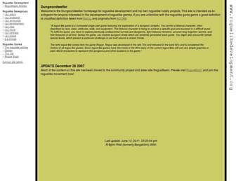 Thumbshot of Roguelikedevelopment.org