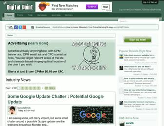 Thumbshot of Digitalpoint.com
