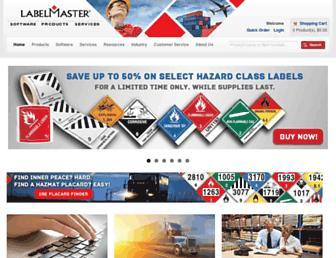 labelmaster.com screenshot