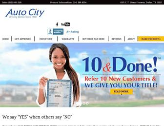 autocitycredit.com screenshot