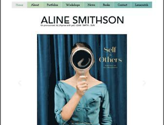 alinesmithson.com screenshot