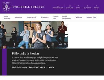Thumbshot of Stonehill.edu