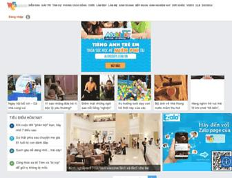 webtretho.com screenshot