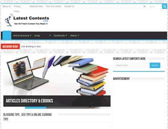 Thumbshot of Latestcontents.com