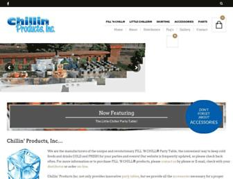 chillinproducts.com screenshot