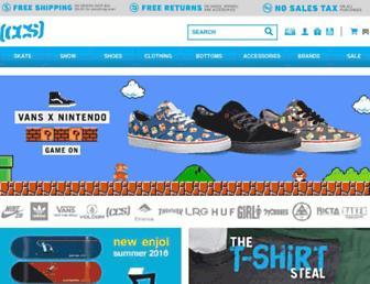 shop.ccs.com screenshot