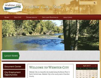 webstercity.com screenshot