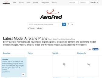 aerofred.com screenshot