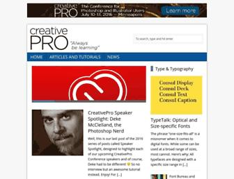 creativepro.com screenshot
