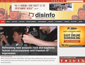 Thumbshot of Disinfo.com