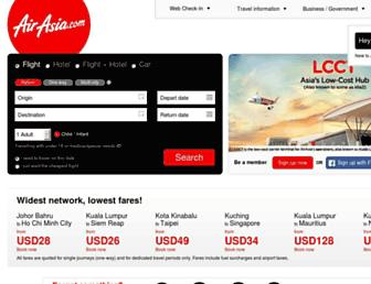 Thumbshot of Airasia.com