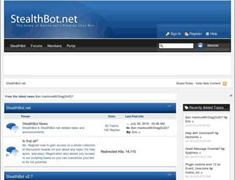 stealthbot.net screenshot