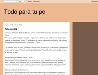 tododescar.blogspot.com screenshot