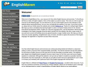 Thumbshot of Englishmaven.org