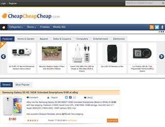 Thumbshot of Cheapcheapcheap.com