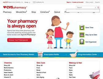 Thumbshot of Cvs.com