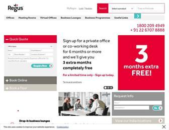 Thumbshot of Regus.co.in