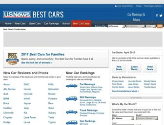 cars.usnews.com screenshot