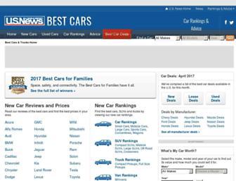 cars.usnews.com screenshot