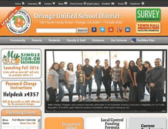 Thumbshot of Orangeusd.org