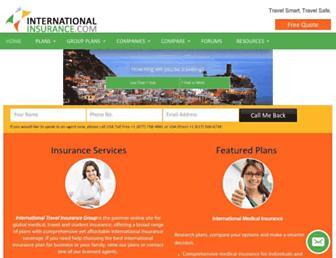 internationalinsurance.com screenshot
