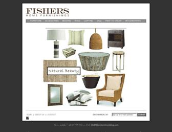 fishershomefurnishings.com screenshot