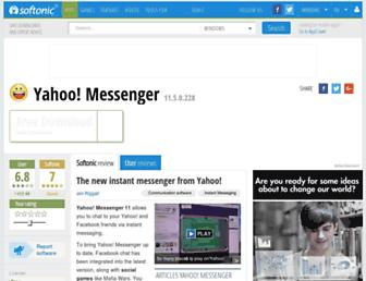 yahoo-messenger.en.softonic.com screenshot