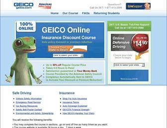 geico.amersc.com screenshot