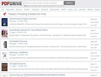 pdfdrive.com screenshot