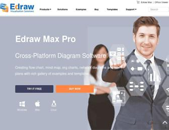 edrawsoft.com screenshot