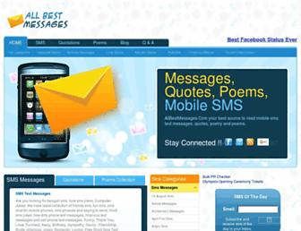 Thumbshot of Allbestmessages.com