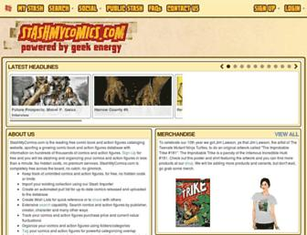stashmycomics.com screenshot