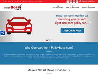 Thumbshot of Policyboss.com