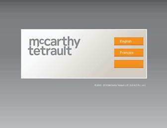 mccarthy.ca screenshot