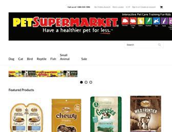 Thumbshot of Petsupermarket.com