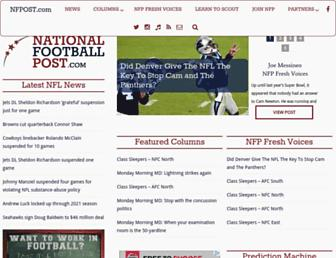 nationalfootballpost.com screenshot