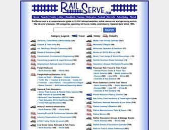 railserve.com screenshot