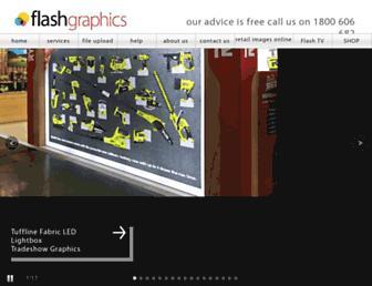 flash.com.au screenshot