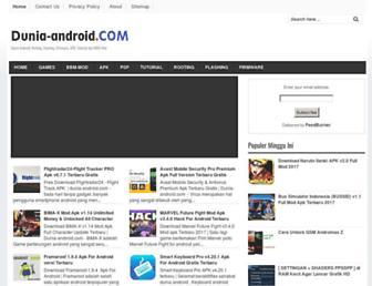 dunia-android.com screenshot