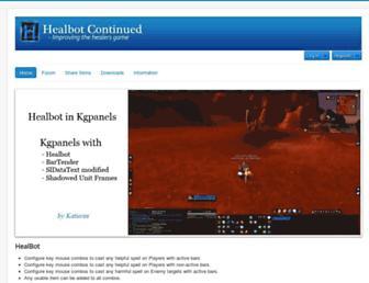 healbot.darktech.org screenshot