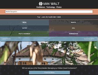 vanwalt.com screenshot